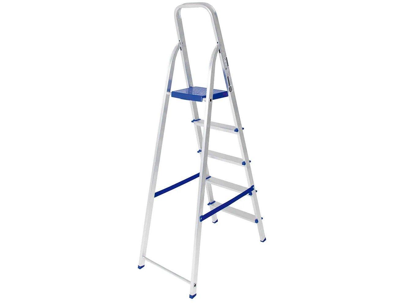 Escada de Alumínio 5 Degraus Mor - 5103 - 4