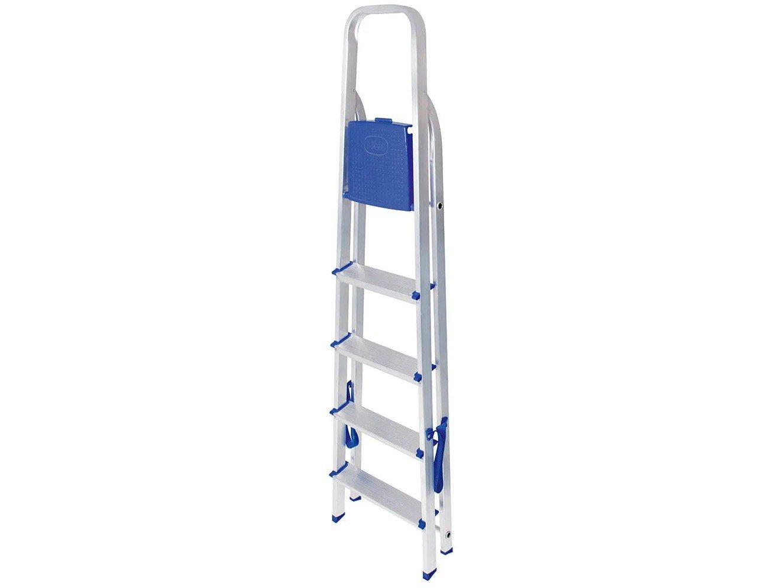 Escada de Alumínio 5 Degraus Mor - 5103 - 8