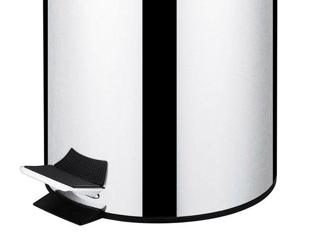 Lixeira Inox para Cozinha com Pedal com Tampa - 5L Brinox Standard - 8