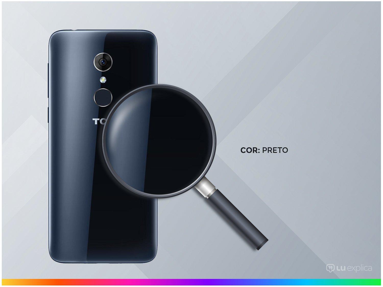 """Smartphone TCL C5 32GB Preto 4G Quad Core - 2GB RAM Tela 5,5"""" Câm. 13MP + Selfie 8MP Dual Chip - 2"""