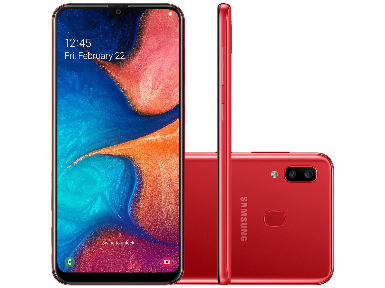 Foto 9 - Smartphone Samsung Galaxy A20 32GB Vermelho 4G - 3GB RAM 6,4 Câm. Dupla + Câm. Selfie 8MP