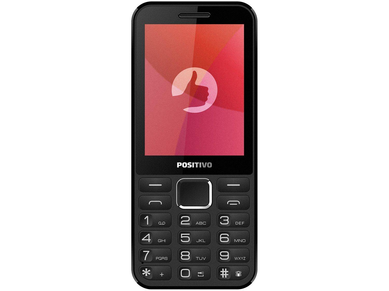 Celular Positivo P28B Dual Chip Rádio FM - Bluetooth MP3 Player Desbl. - 2