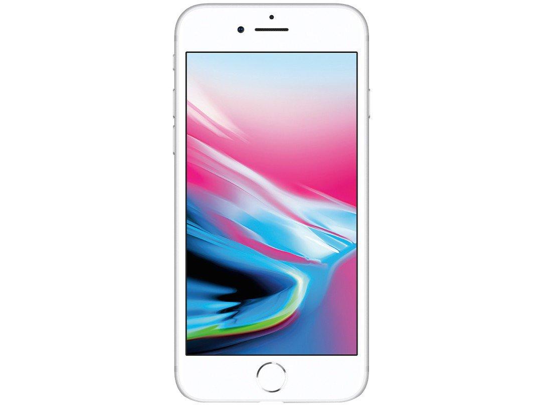 """iPhone 8 Apple com 128GB, Tela Retina HD de 4,7"""", iOS 11, Câmera de 12 MP, Resistente à Água, Wi-Fi, 4G LTE e NFC - Prateado - 4"""