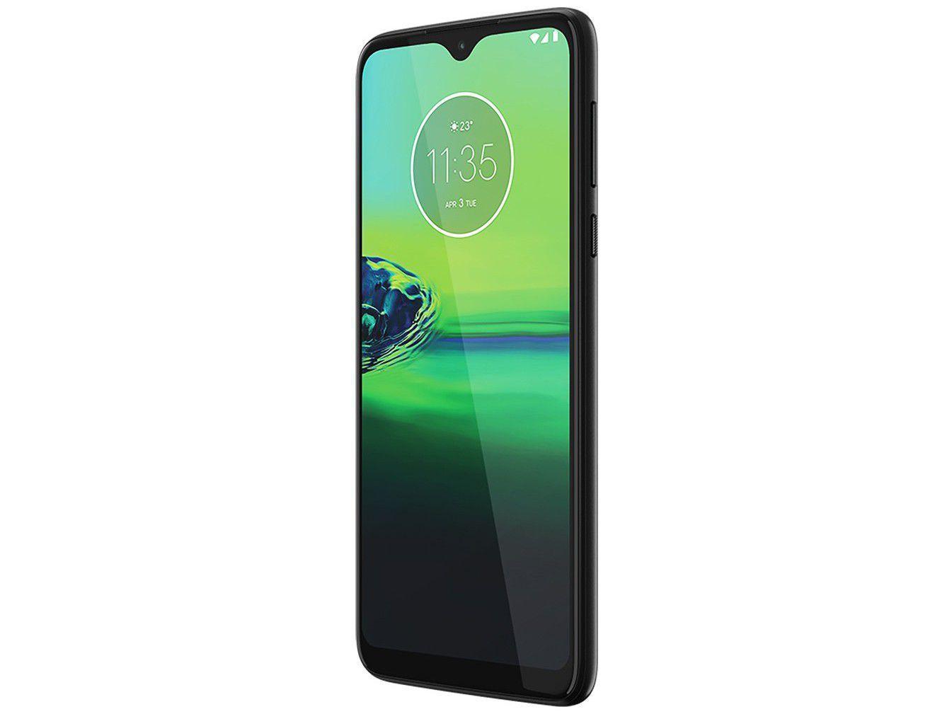 "Smartphone Motorola Moto G8 Play Preto Onix 32GB, Tela Max Vision de 6.2"" HD+, Câmera Traseira Tripla, Android 9.0 e Processador Octa-Core - 4"