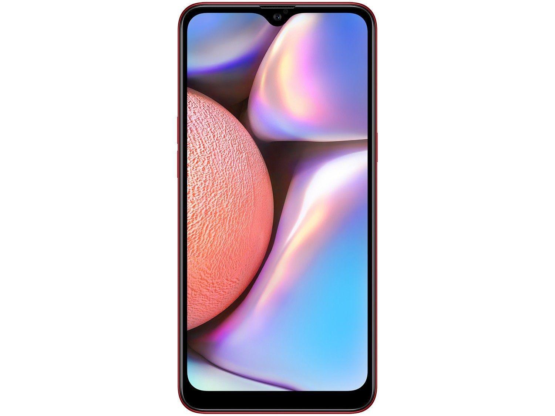"""Smartphone Samsung Galaxy A10s 32GB Dual Chip Android 9.0 Tela 6.2"""" Octa-Core 4G Câmera 13MP+2MP - Vermelho - 8"""
