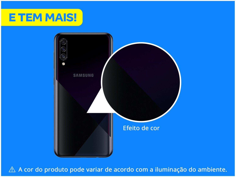 """Smartphone Samsung Galaxy A30s Preto 64GB, 4GB RAM, Tela Infinita de 6.4"""", Câmera Traseira Tripla, Leitor Digital na Tela, Android 9.0 e TV Digital - 4"""