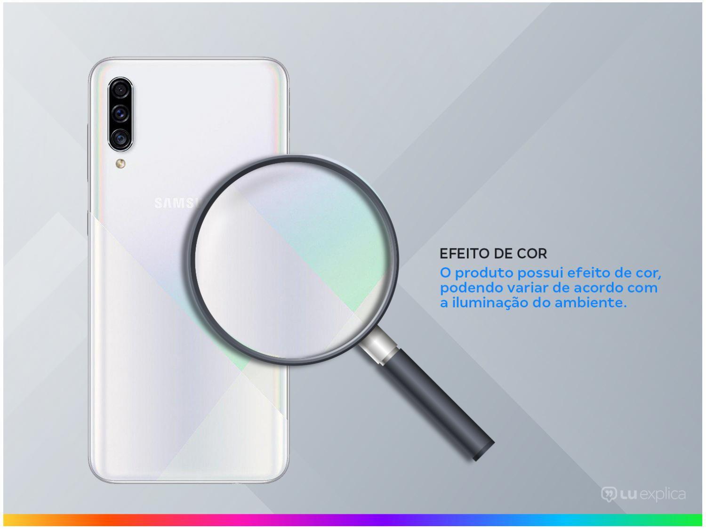 "Smartphone Samsung Galaxy A30s 64GB Branco 4G - 4GB RAM Tela 6,4"" Câm. Tripla + Câm. Selfie 16MP - 2"