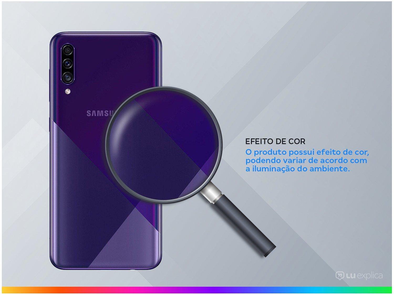 "Smartphone Samsung Galaxy A30s 64GB Violeta 4G - 4GB RAM Tela 6,4"" Câm. Tripla + Câm. Selfie 16MP - 2"