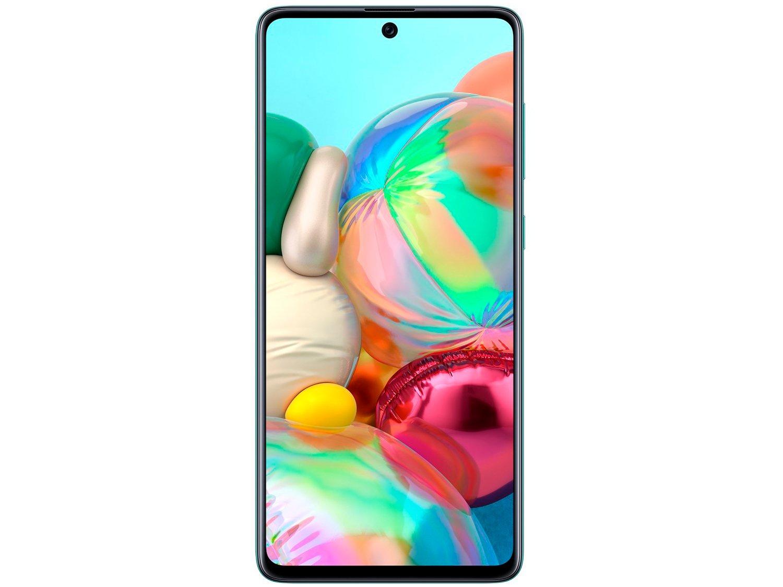 """Smartphone Samsung Galaxy A71 128GB Azul 6GB RAM - Tela 6,7"""" Câm. Quádrupla Câm. + Selfie 32MP - Bivolt - 4"""