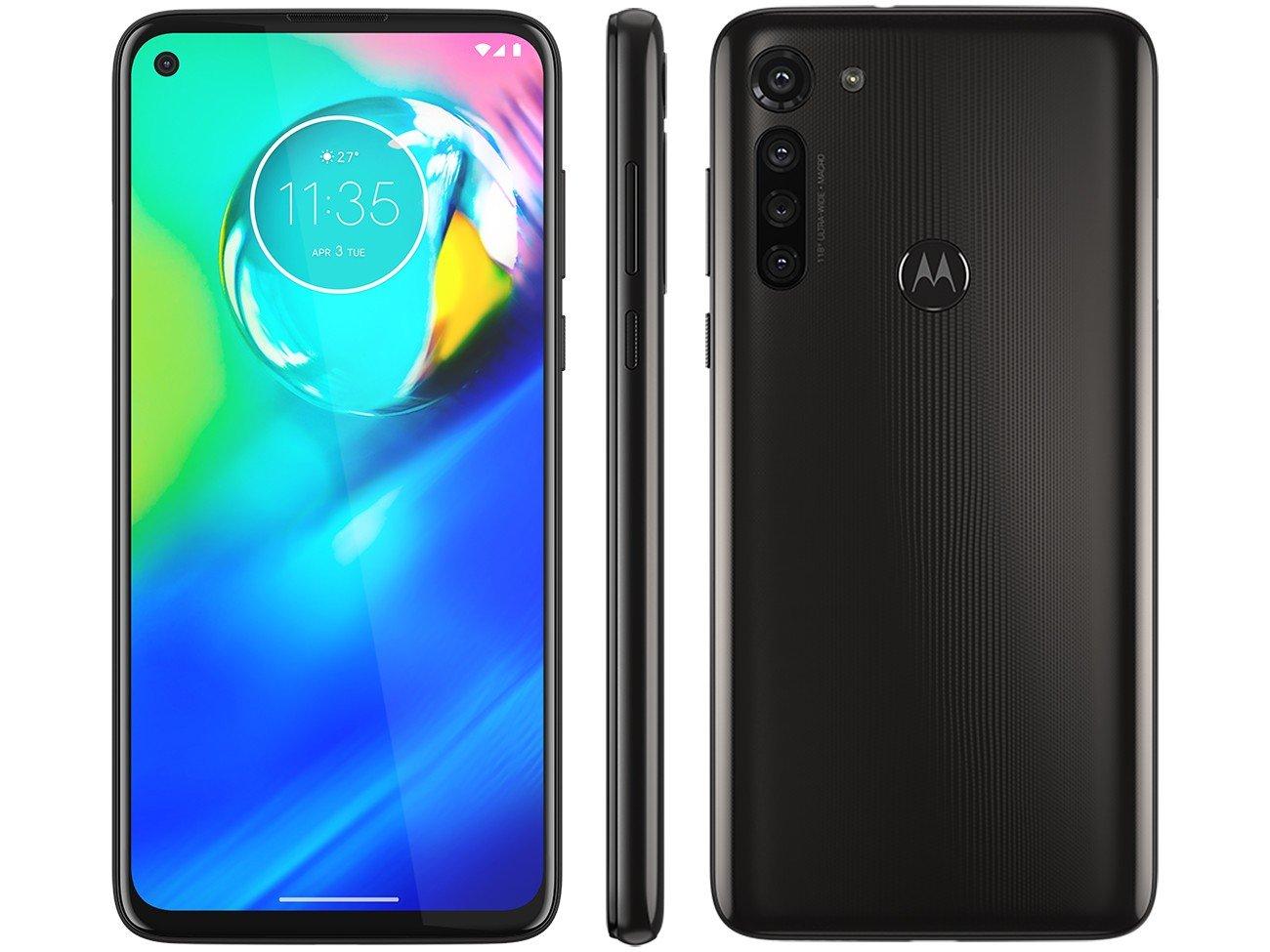 """Smartphone Motorola Moto G8 Power Preto Titanium 64GB, Tela de 6.4"""" FHD+, Câmera Traseira Quádrupla, Android 10 e Processador Qualcomm Octa-Core - 3"""