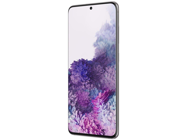 "Smartphone Samsung Galaxy S20 128GB Cosmic Gray - Octa-Core 8GB RAM 6,2"" Câm. Tripla + Selfie 10MP - Bivolt - 4"