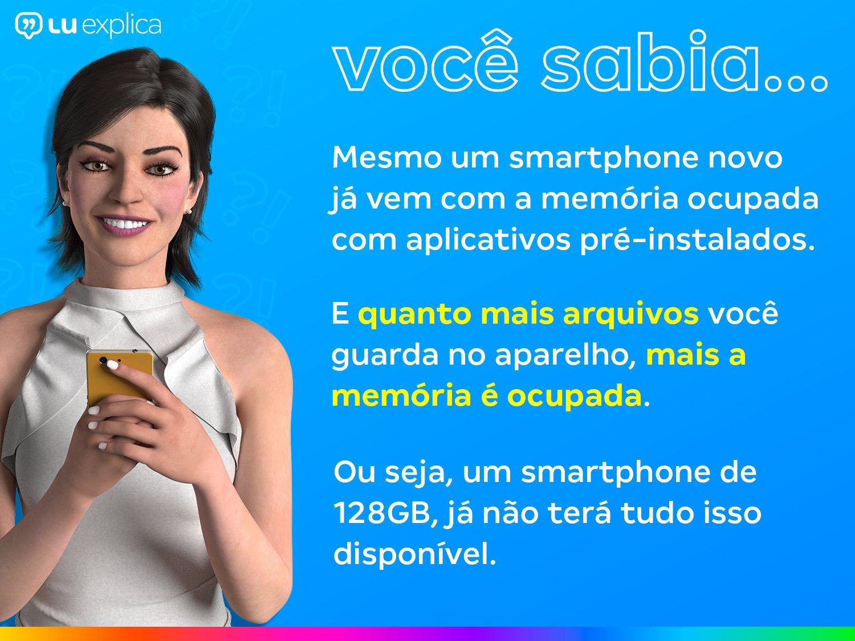 "Smartphone Samsung Galaxy S20 128GB Cloud Blue 4G - Octa-Core 8GB RAM 6,2"" Câm. Tripla + Selfie 10MP - Bivolt - 3"
