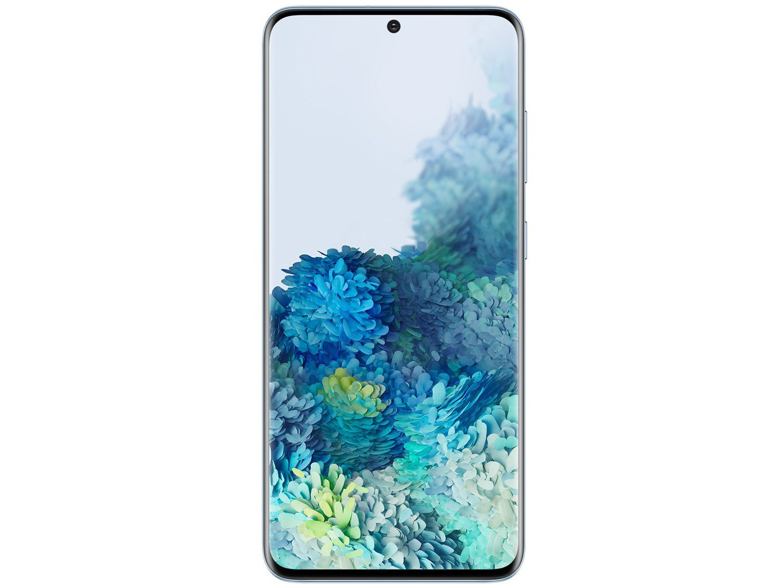 "Smartphone Samsung Galaxy S20 128GB Cloud Blue 4G - Octa-Core 8GB RAM 6,2"" Câm. Tripla + Selfie 10MP - Bivolt - 4"