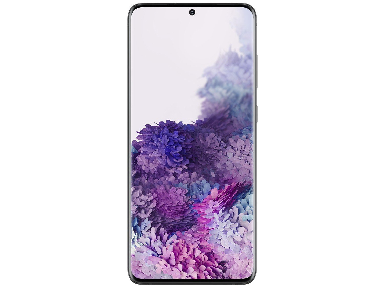 "Smartphone Samsung Galaxy S20+ 128GB Cosmic Black - 8GB RAM Tela 6,7"" Câm. Quádrupla + Selfie 10MP - Bivolt - 4"