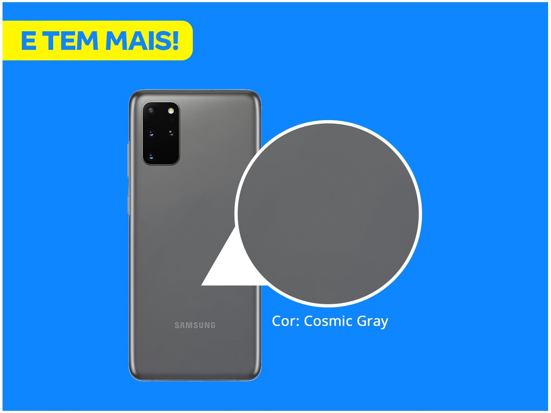 "Smartphone Samsung Galaxy S20+ 128GB Cosmic Gray - 8GB RAM Tela 6,7"" Câm. Quádrupla + Selfie 10MP - Bivolt - 2"