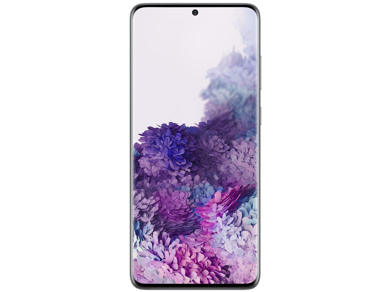 "Smartphone Samsung Galaxy S20+ 128GB Cosmic Gray - 8GB RAM Tela 6,7"" Câm. Quádrupla + Selfie 10MP - Bivolt - 4"