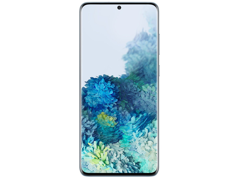 "Smartphone Samsung Galaxy S20+ 128GB Cloud Blue - 8GB RAM Tela 6,7"" Câm. Quádrupla + Selfie 10MP - Bivolt - 4"