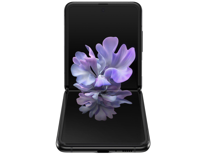 SM-F700FZKDZTO TELEFONE CELULAR SAMSUNG SM-F700F GALAXY Z FLIP 256GB PRETO - 8