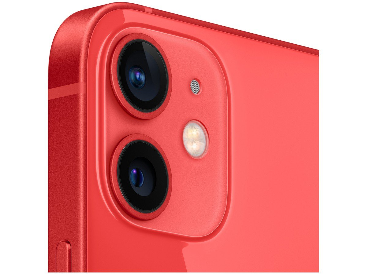"iPhone 12 Mini Apple 64GB (PRODUCT)RED 5,4"" - Câm. Dupla 12MP iOS - 2"