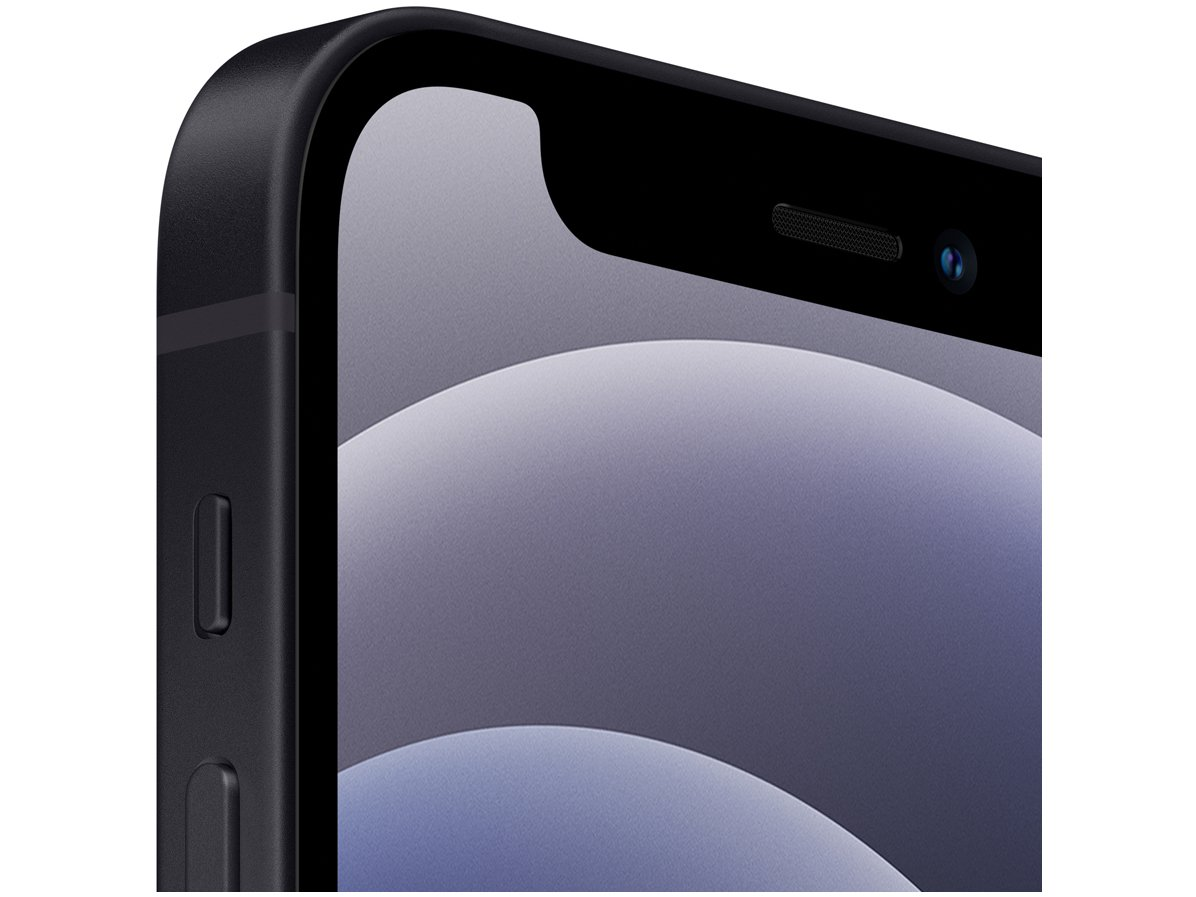 "iPhone 12 Mini Apple 128GB Preto 5,4"" - Câm. Dupla 12MP iOS - 1"