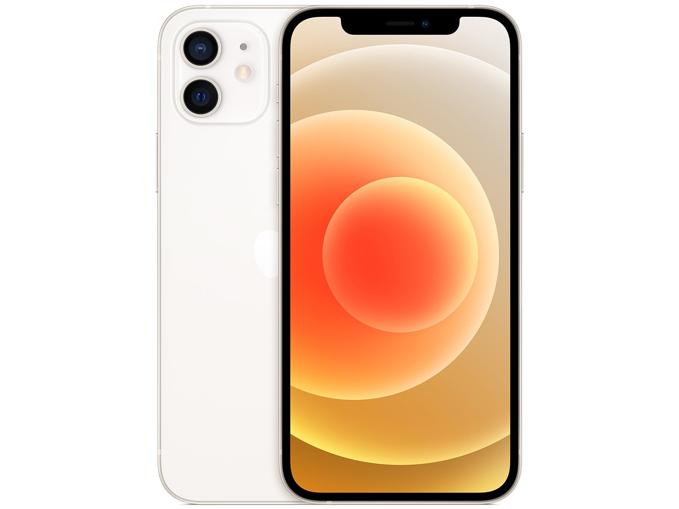 "iPhone 12 Apple 64GB Branco 6,1"" Câm. Dupla 12MP - iOS - Bivolt"