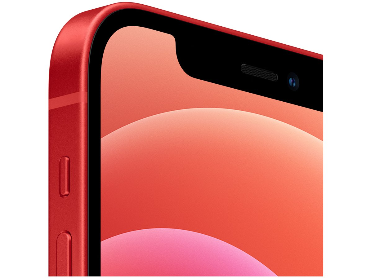 "iPhone 12 Apple 256GB (PRODUCT)RED Tela 6,1"" - Câm. Dupla 12MP iOS - Bivolt - 1"
