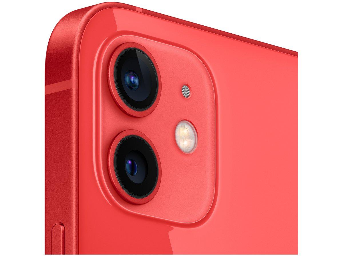 "iPhone 12 Apple 256GB (PRODUCT)RED Tela 6,1"" - Câm. Dupla 12MP iOS - Bivolt - 2"