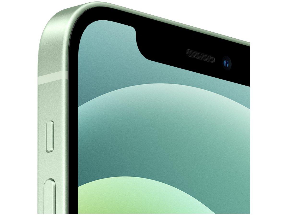 "iPhone 12 Apple 256GB Verde Tela 6,1"" - Câm. Dupla 12MP iOS - Bivolt - 1"