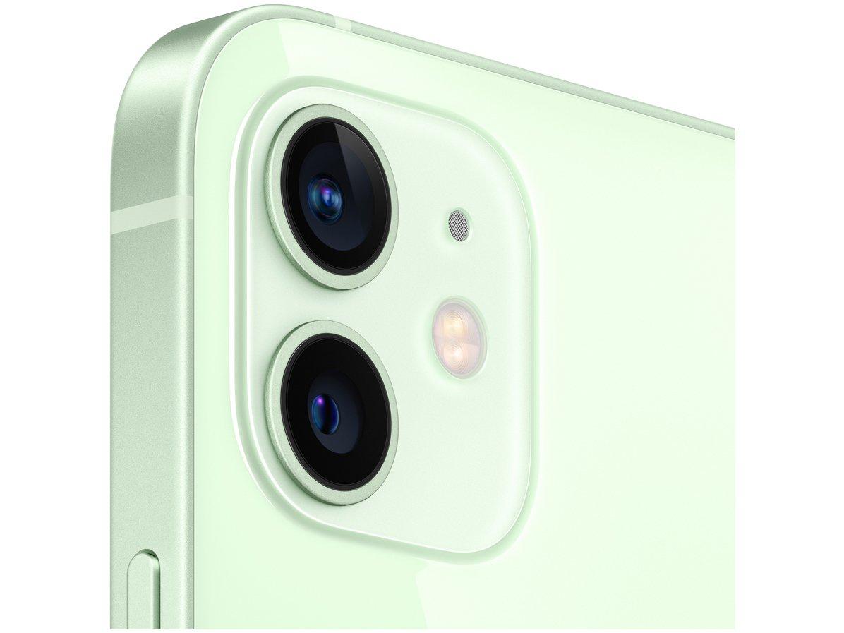 "iPhone 12 Apple 256GB Verde Tela 6,1"" - Câm. Dupla 12MP iOS - Bivolt - 2"
