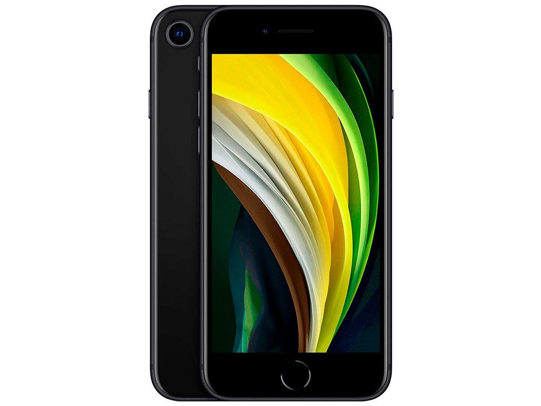 "iPhone SE Apple 128GB Preto 4,7"" 12MP iOS -"