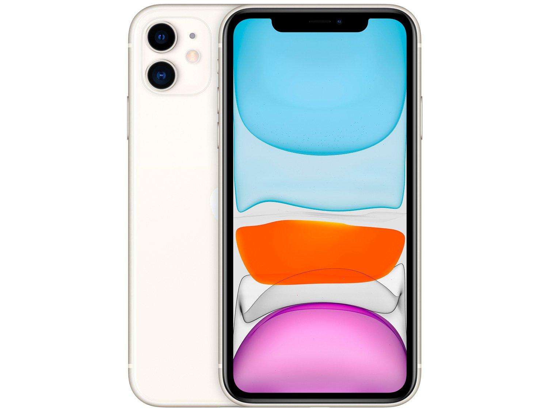 "iPhone 11 Apple 64GB Branco 6,1"" 12MP iOS -"