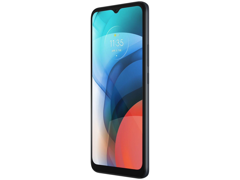 """Smartphone Motorola Moto E7 Cinza Metálico 32GB, 2GB RAM, Tela de 6.5"""", Câmera Traseira Dupla, Android 10 e Processador Octa-Core - 8"""