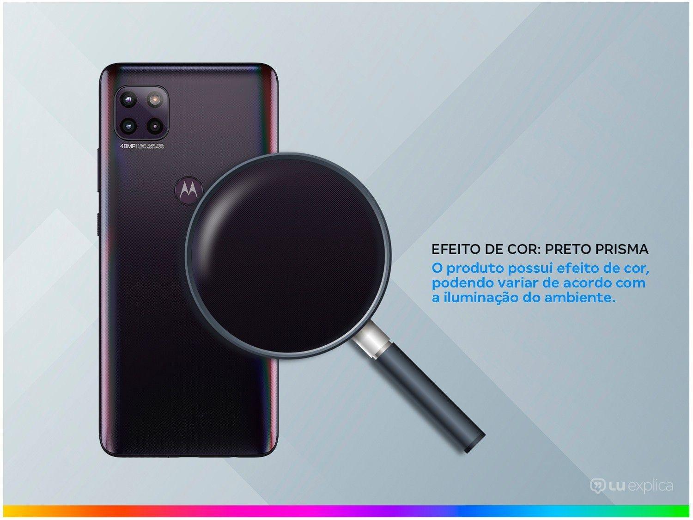 """Smartphone Motorola Moto G 5G Preto Prisma 128GB, 6GB RAM, Tela de 6.7"""", Câmera Traseira Tripla, Android 10 e Processador Octa-Core - 5"""