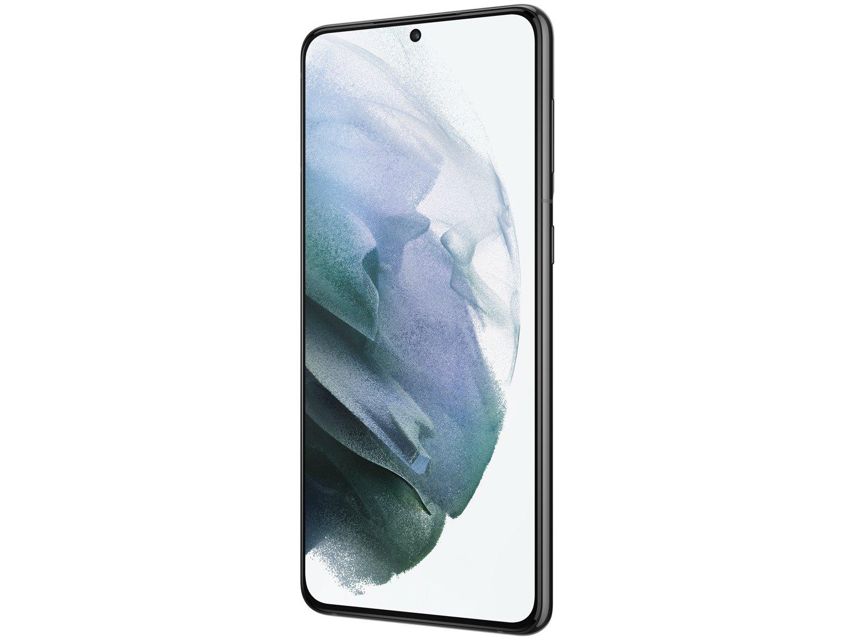"Smartphone Samsung Galaxy S21+ 128GB Preto 5G - 8GB RAM Tela 6,7"" Câm. Tripla + Selfie 10MP - Bivolt - 4"