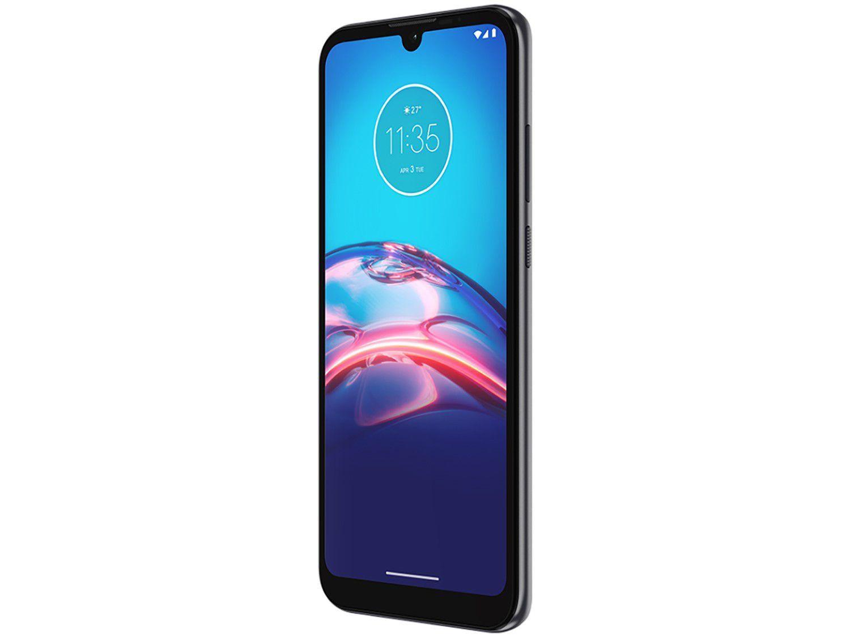 "Smartphone Motorola Moto E6i 32GB Cinza Titanium - 4G 2GB RAM Tela 6,1"" Câm. Dupla + Selfie 5MP - Bivolt - 4"