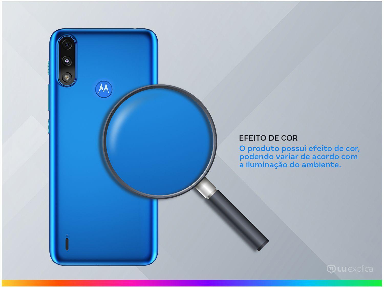 """Smartphone Motorola Moto E7 Power 32GB Azul - Metálico 4G 2GB RAM 6,5"""" Câm. Dupla + Selfie 5MP - Bivolt - 2"""