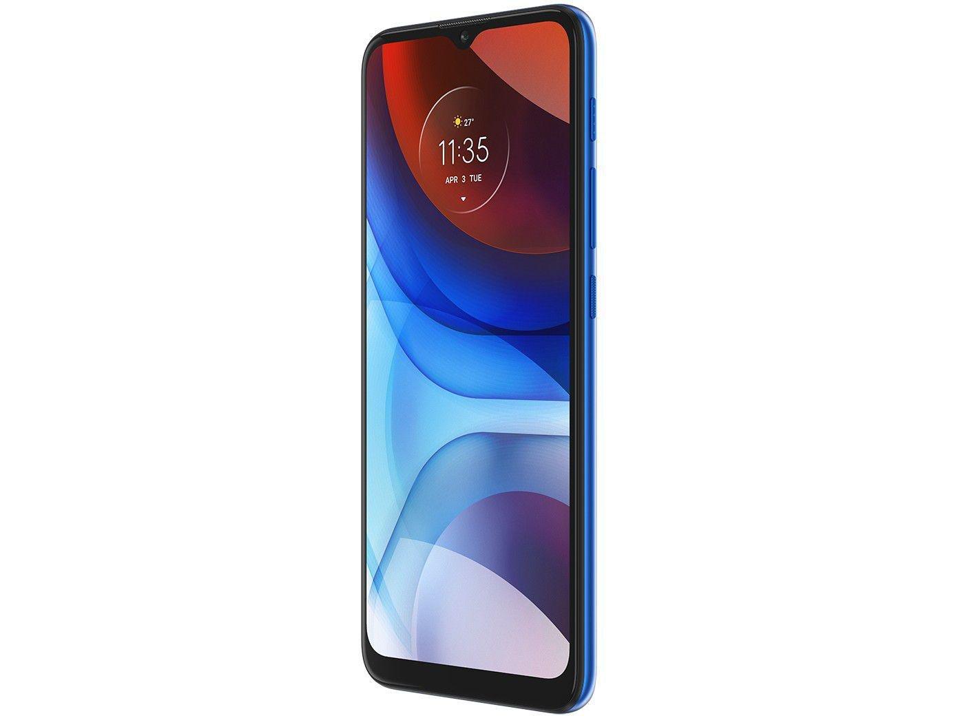 """Smartphone Motorola Moto E7 Power 32GB Azul - Metálico 4G 2GB RAM 6,5"""" Câm. Dupla + Selfie 5MP - Bivolt - 4"""