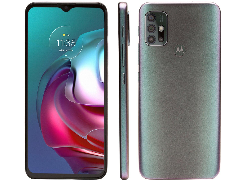 """Smartphone Motorola Moto G30 Dark Prism 128GB, 4GB RAM, Tela de 6.5"""", Câmera Traseira Quádrupla, Android 11 e Processador Qualcomm 662 Octa-Core - 1"""