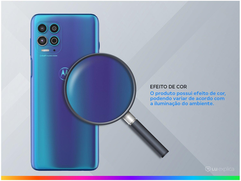 "Smartphone Motorola Moto G100 256GB Luminous Ocean - 5G 12GB RAM 6,7"" Câm. Quádrupla + Selfie Dupla - Bivolt - 2"