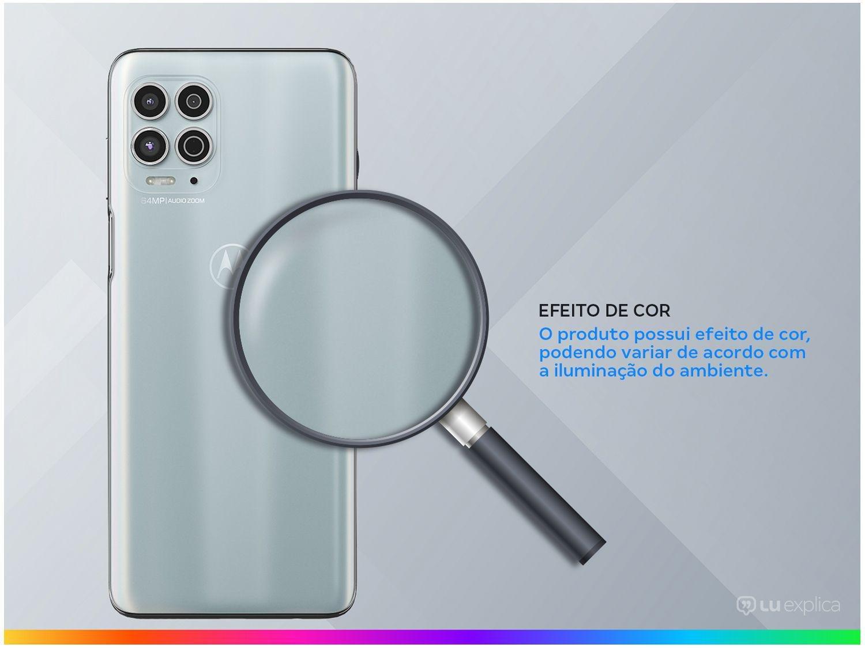 """Smartphone Motorola Moto G100 Luminous Sky 256GB, 12GB RAM, Tela de 6.7"""", 5G, Câmera Quádrupla, Android 11 e Processador Qualcomm 870 Octa-Core - 5"""