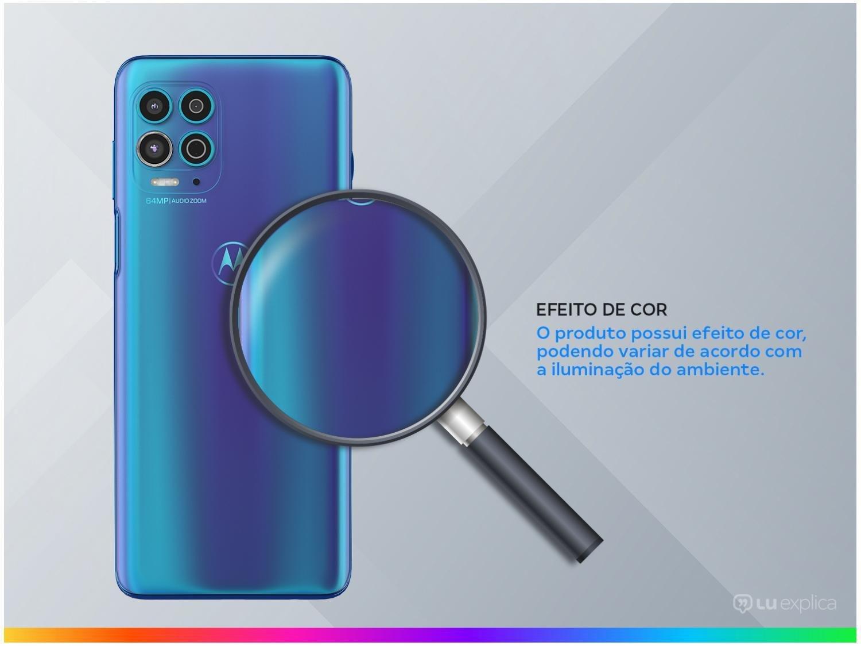 "Smartphone Motorola Moto G100 e Cabo USB-C/HDMI - 256GB Luminous Ocean 12GB RAM 6,7"" Câm. Quádrupla - 2"