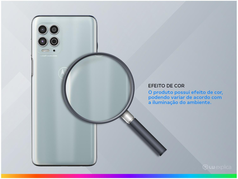 """Smartphone Motorola Moto G100 e Cabo USB-C/HDMI - 256GB Luminous Sky 12GB RAM 6,7"""" Câm. Quádrupla - 2"""