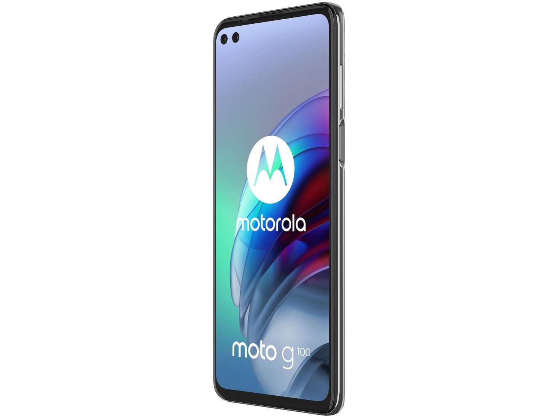 """Smartphone Motorola Moto G100 e Cabo USB-C/HDMI - 256GB Luminous Sky 12GB RAM 6,7"""" Câm. Quádrupla - 4"""