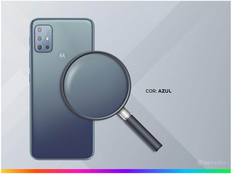 "Smartphone Motorola Moto G20 64GB Azul 4G - 4GB RAM Tela 6,5"" Câm. Quádrupla + Selfie 13MP - Bivolt - 2"