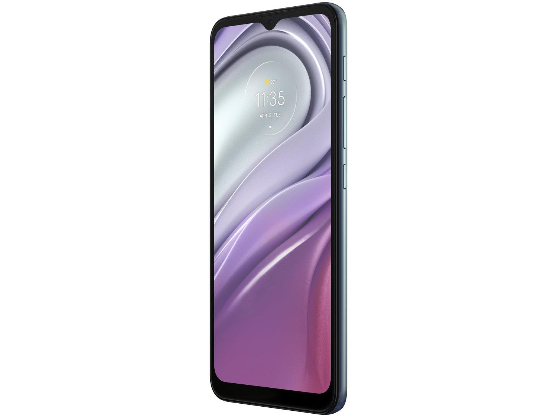 "Smartphone Motorola Moto G20 64GB Azul 4G - 4GB RAM Tela 6,5"" Câm. Quádrupla + Selfie 13MP - Bivolt - 3"