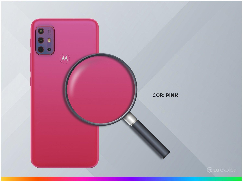 "Smartphone Motorola Moto G20 64GB Pink 4G - 4GB RAM Tela 6,5"" Câm. Quádrupla + Selfie 13MP - Bivolt - 2"