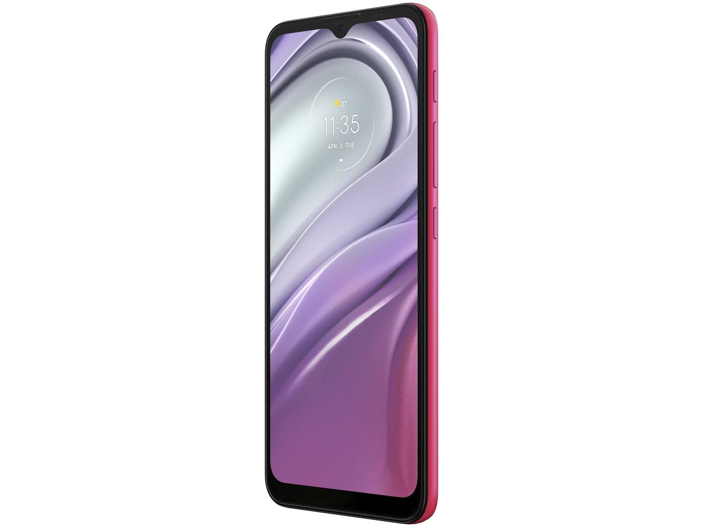 "Smartphone Motorola Moto G20 64GB Pink 4G - 4GB RAM Tela 6,5"" Câm. Quádrupla + Selfie 13MP - Bivolt - 3"