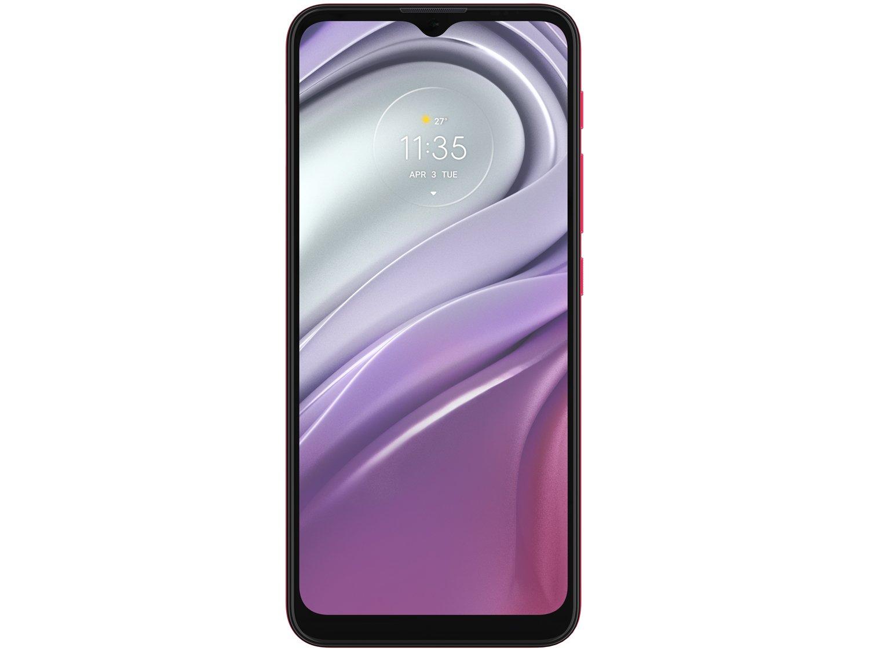 "Smartphone Motorola Moto G20 64GB Pink 4G - 4GB RAM Tela 6,5"" Câm. Quádrupla + Selfie 13MP - Bivolt - 4"