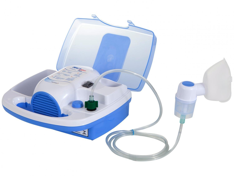 Inalador NS Inalamax Plus - Azul e Branco - 1