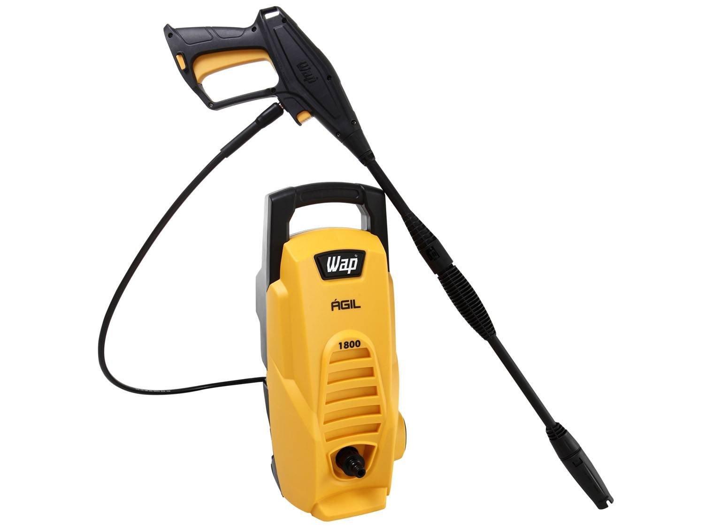 Lavadora Wap de Alta Pressão Ágil 1800 com Trava de Segurança 1300 PSI - Amarela/Preta - 220V